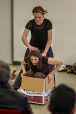 """HEReins"" - physical theatre piece in collaboration with Margot Przymierska"