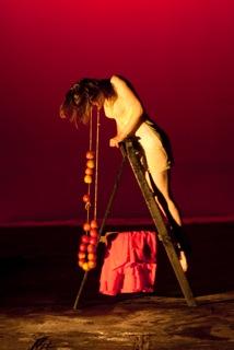 """Crimson"" with Neti Neti Theatre Company, Goldsmiths University Theatre"