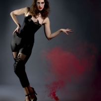 Burlesque shoot by Pavlito vel Pablo