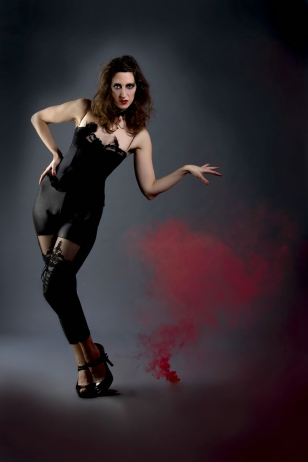Burlesque shoot by Pavlito vel Pablo